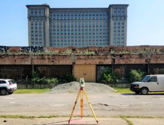 Michigan Central Train Station 3D Scanning
